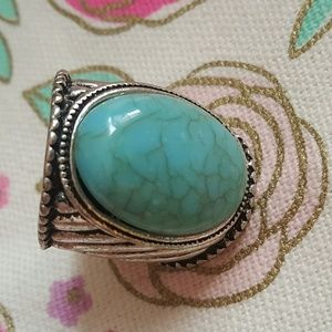Accessories - Turquoise stone ring
